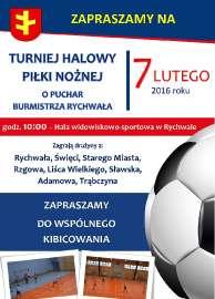 Halowy Turniej Piłki Nożnej 2016