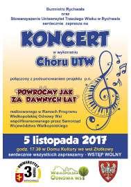 Koncert UTW
