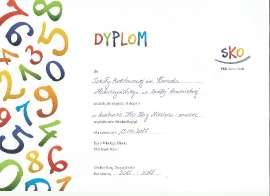 """Nagroda II stopnia w konkursie """" SKO Blog Miesiąca"""""""