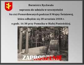 Pomnik w Białej Panieńskiej 28.09.2018_2