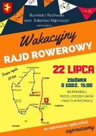 Rajd Rowerowy 22 lipiec 2018 r.