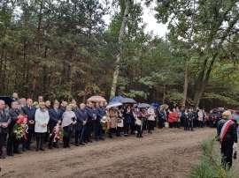 Uroczystość przy pomniku w Białej Panieńskiej 2016
