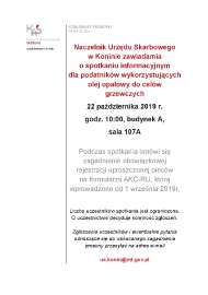 Urząd skarbowy Komunikat_1
