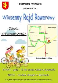Wiosenny Rajd Rowerowy 2016