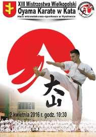 XIII Mistrzostwa Wielkopolski Oyama Karate w Kata